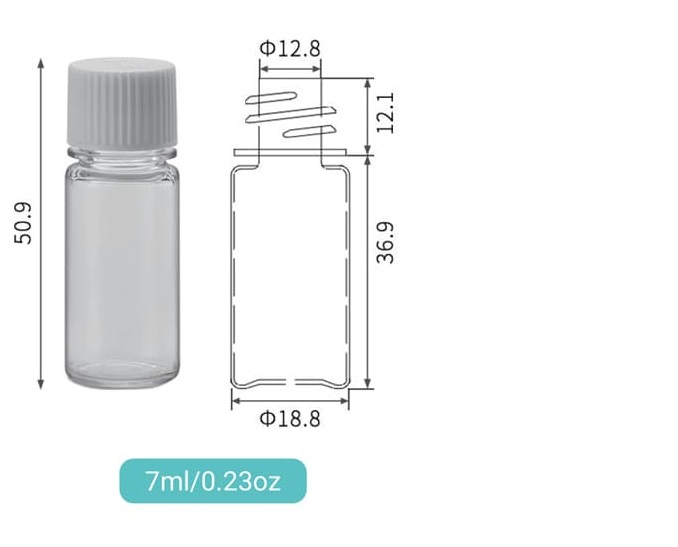 Features and Manufacturing Techniques of a High-Quality 7ml-100ml Screw On PET Bottle